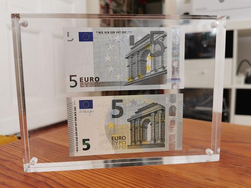 5€ Banknotes