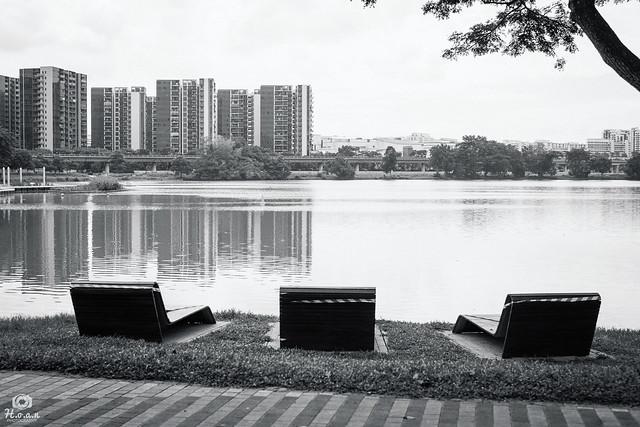 First class seats - Jurong Lake Gardens, Singapore