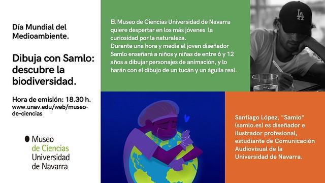 Dibuja con Samlo - Día Mundial del Medioambiente