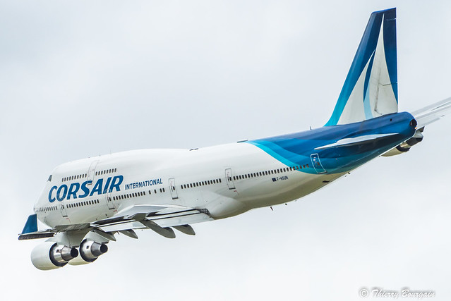 [ORY] Corsair International Boeing 747-422 _ F-HSUN