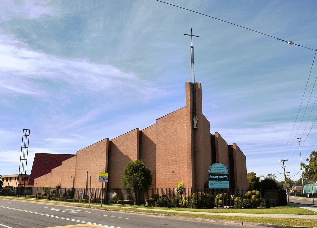 Our Lady of Mt Carmel Catholic Church, Mt Pritchard, Sydney, NSW.