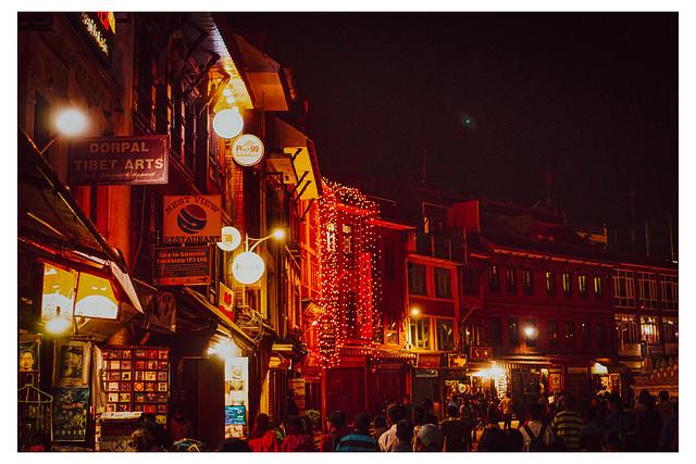 Nightlife - Boudha Stupa - Kathmandu, Nepal_Web 1-E_Scaled