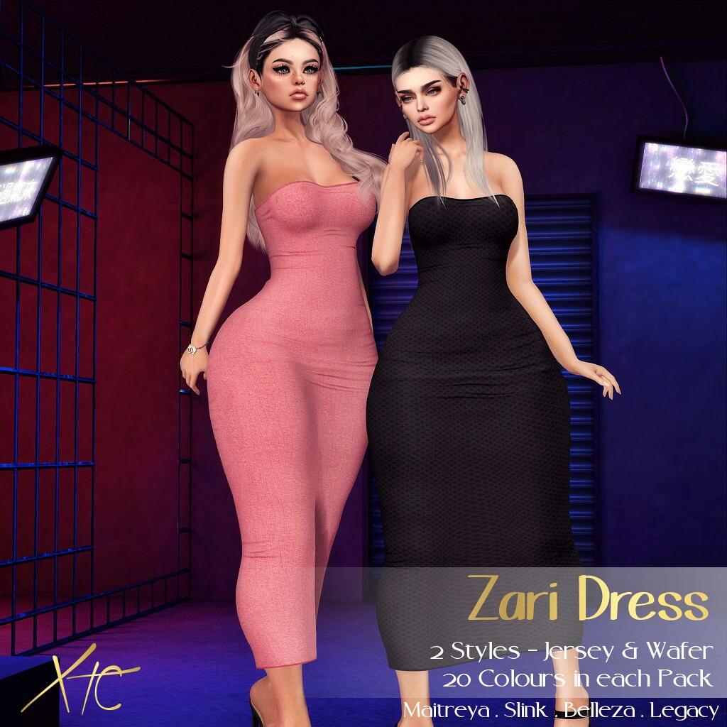 .Zari Strapless Dress. @ TM&WJ