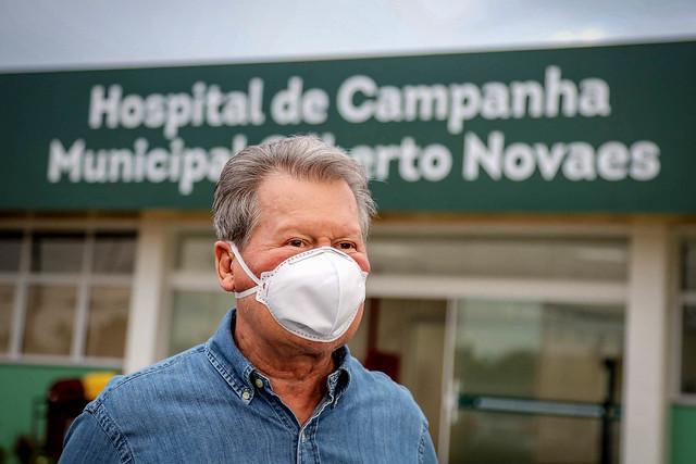 10.06.20. Prefeitura assume integralmente gestão do hospital de campanha