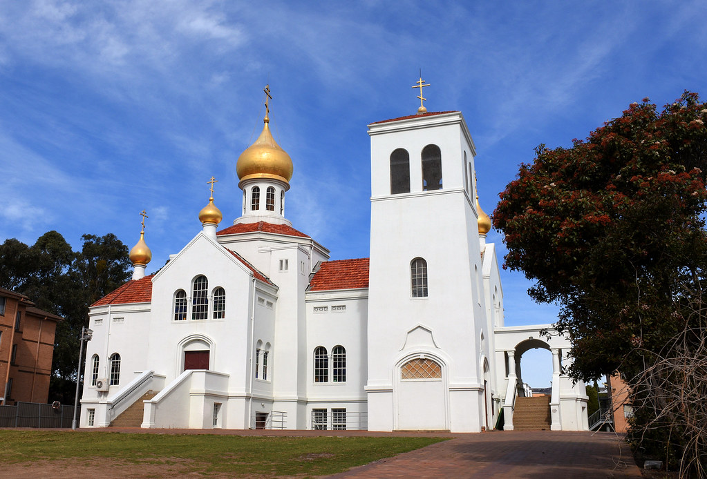 Russian Orthodox Church, Cabramatta, Sydney, NSW.