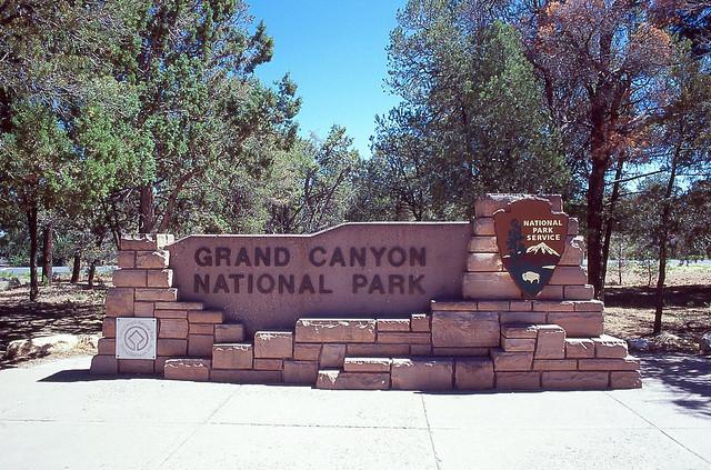 Grand Canyon Sign