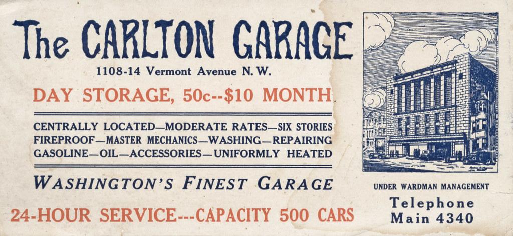 Carlton Garage (c. 1925)