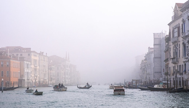 Morning haze on the Grand Canal