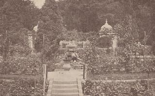 The Dutch Garden as a rose garden in the 1930s