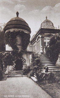 The Summer House and Grotto pre-war