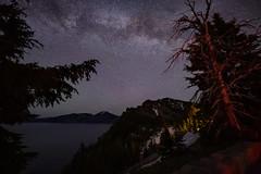 Crater Lake Night