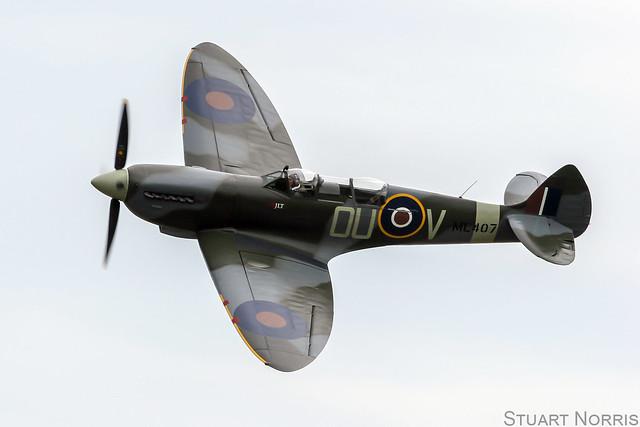 Spitfire TIX G-LFIX ML407 - Air Leasing Ltd