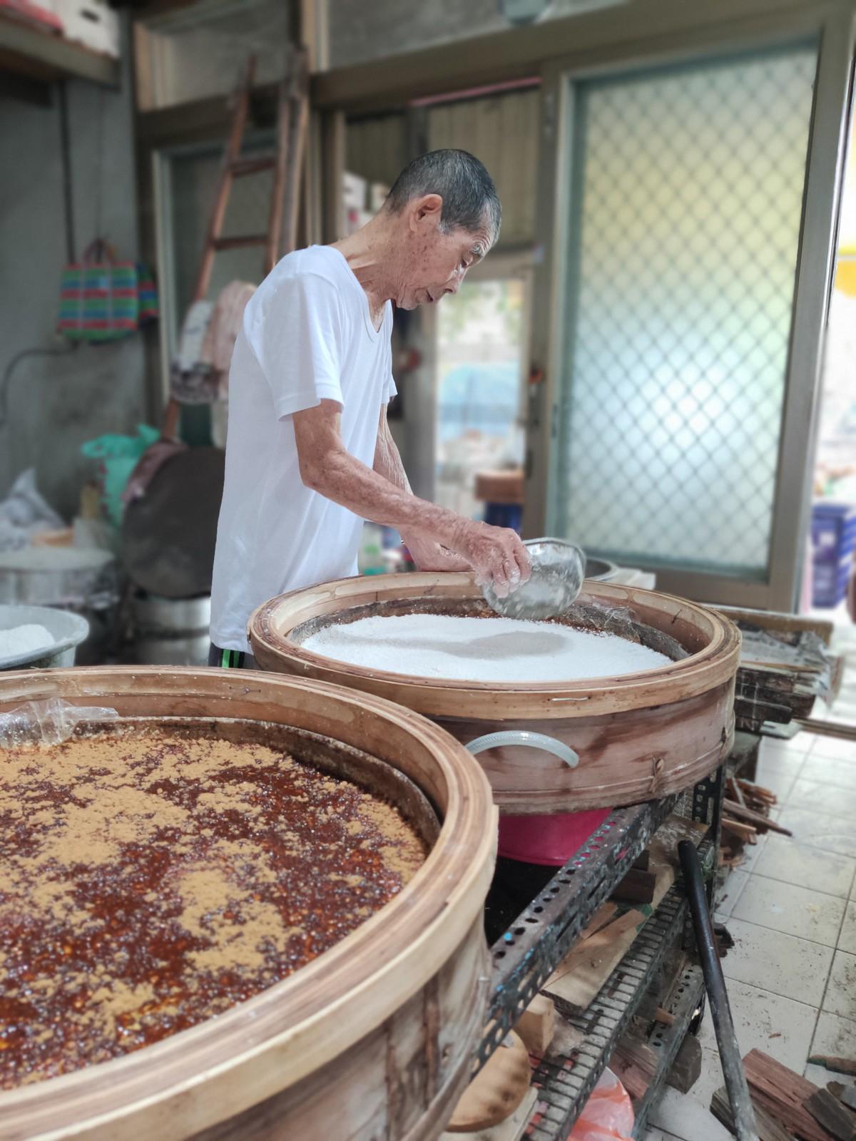 灣裡柴燒傳統粿 (6)