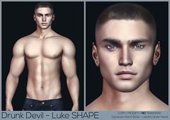 Drunk Devil - Luke #8 Shape