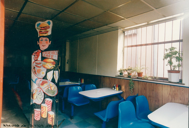 Cafe, Norwood Rd, Tulse Hill, 1991 TQ3172-001