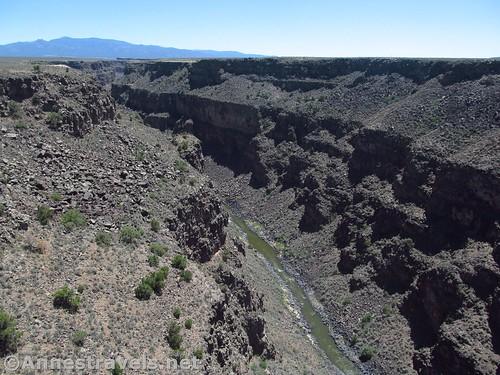 Vies from the Rio Grande Gorge Bridge, Rio Grande del Norte National Monument, New Mexico