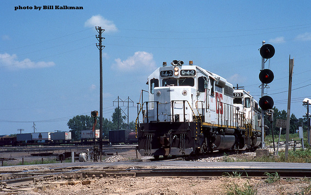 1984 07-29 1206 KCS SD40-2-642 S/B Kansa City, MO