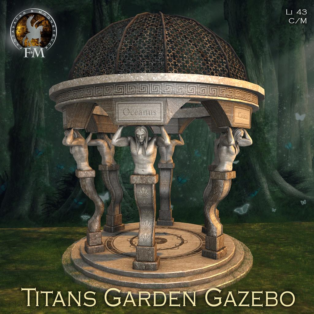 F&M Titans Garden Gazebo