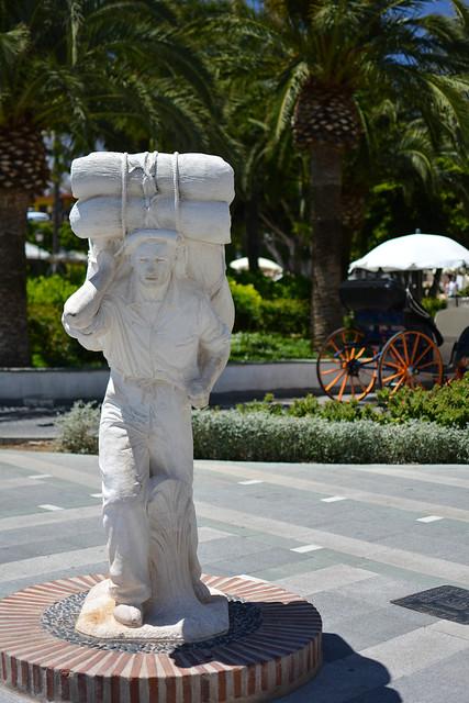Estatua en la Plaza