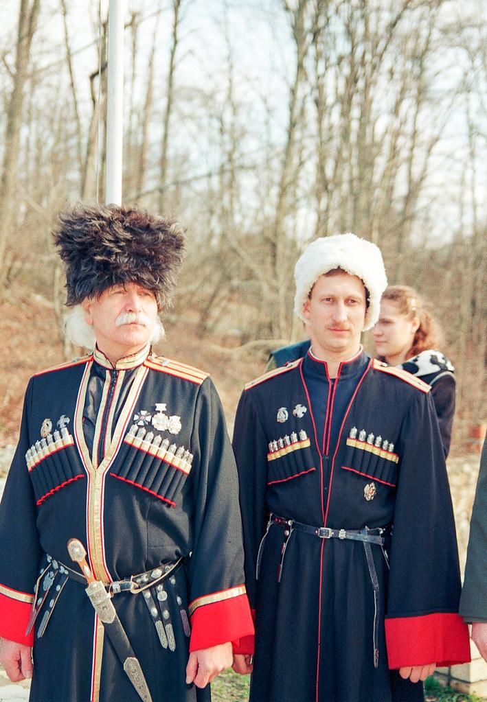 Казаки школы Щетинина - 2003. Щетинин М.П. и Кузовкин В.Н.
