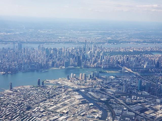 Flying Over New York City