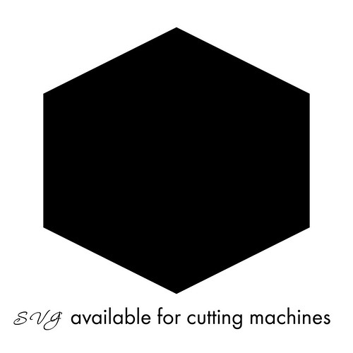 Hexagon-Honeycomb-SVG available for cutting machines
