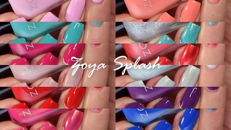 Zoya Splash Collection
