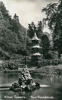 Dolphin Lake and Pagoda Fountain