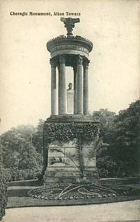 Choragic Monument in 1906