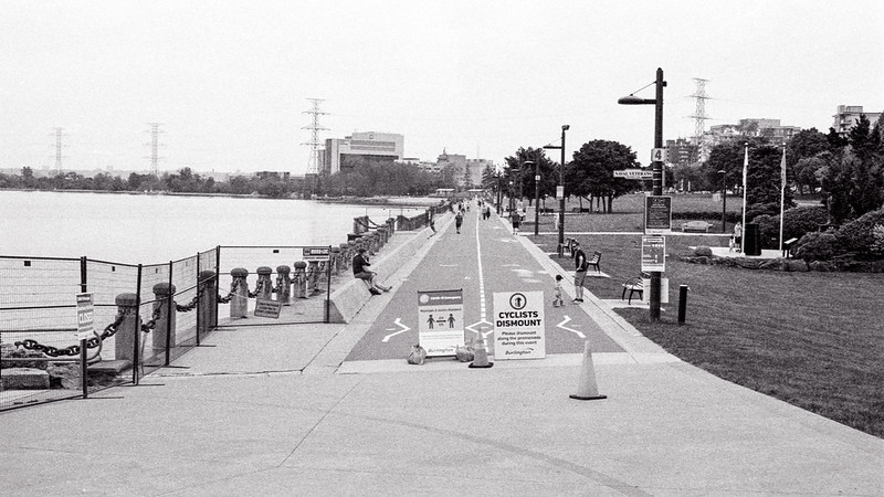 You Can't Bike Along the Lakefront. 2020
