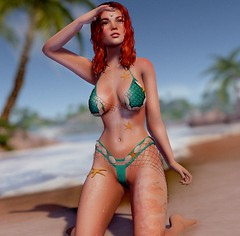 New Aley Mermaid Bikini!