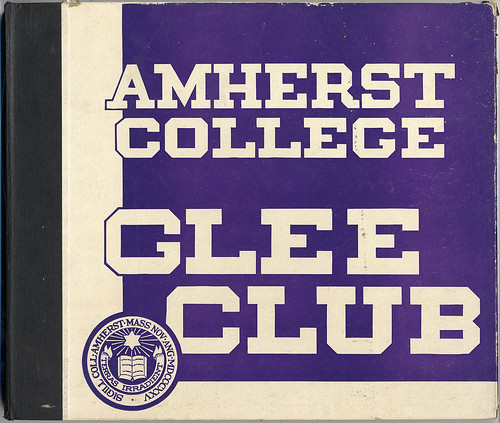 Amherst College Glee Club Record Cover