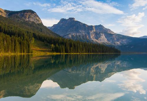 Reflections at Emerald Lake, Yoho National Park, Canada