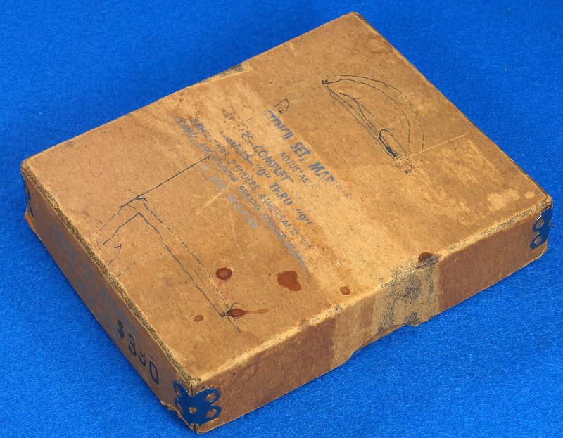 RD25427 Vintage Brass Stencil Sets 2 inch C.H. Hanson, Reese