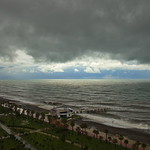 Stormy Black Sea, Batumi, Georgia