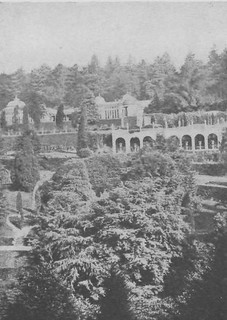 A view across the Gardens in 1871
