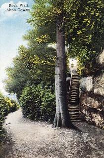 The Rock Walk steps pre-war
