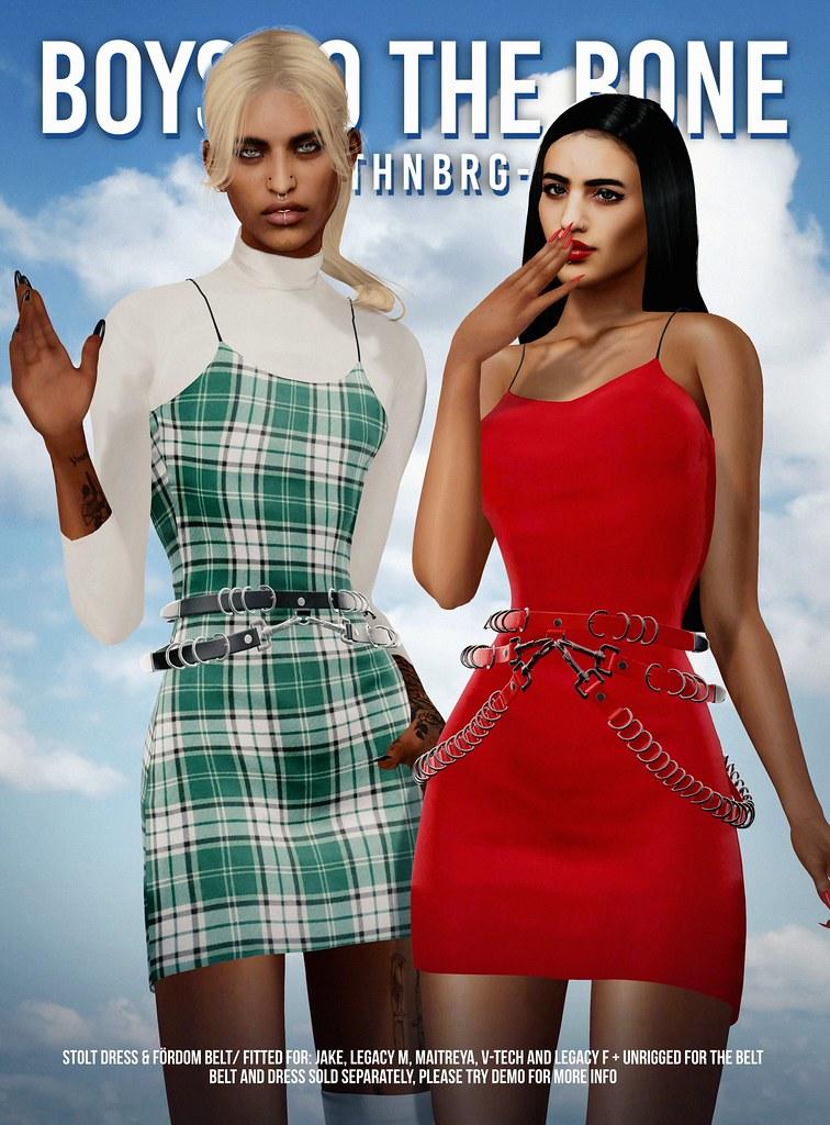 BTTB stolt dress & fördom belt x Equal10 June 2020