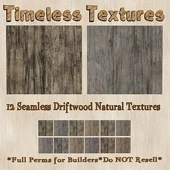 TT 12 Seamless Driftwood Natural Timeless Textures