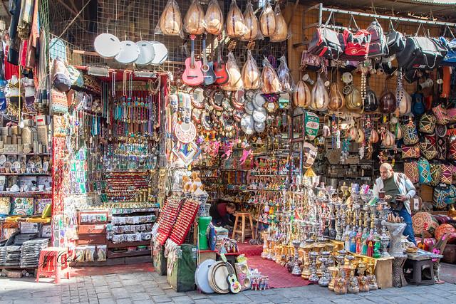 Armchair Traveling - Inside the Souk, Cairo, Egypt