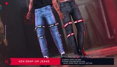 HEVO - Ken Strap-up Jeans