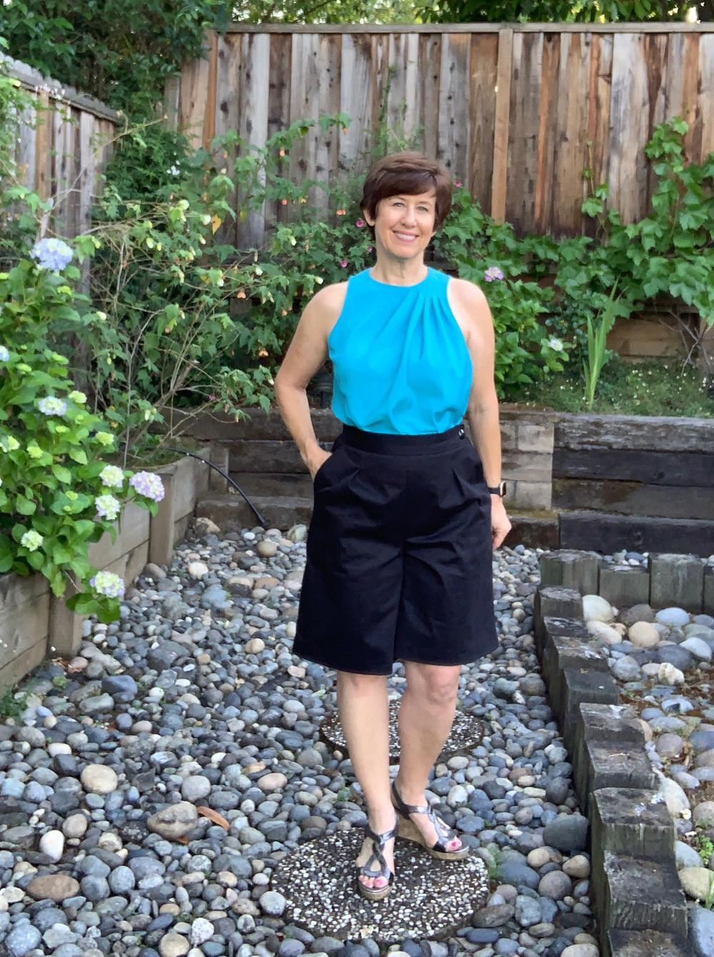 Flint shorts turq burda top1