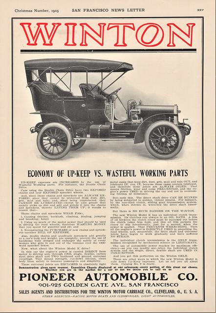 1906 Winton Touring Car