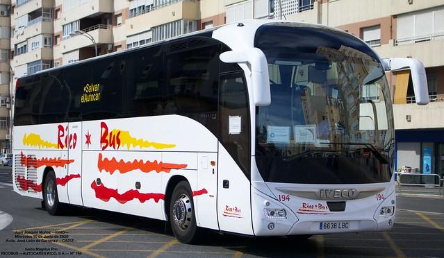 RICO BUS (AUTOCARES RICO / TRANSCELA / AUTOCARES MORENO) - Página 5 49992926437_1dc03d5052_z