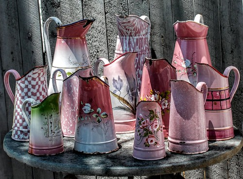 Pink Pitchers | by YourCastlesDecor