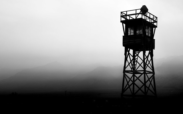 All Along the Manzanar Watchtower - Independence, CA
