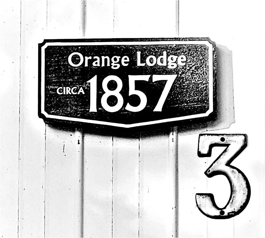 Former Orange Lodge, built 1857; now Merrickville Masonic Lodge #55
