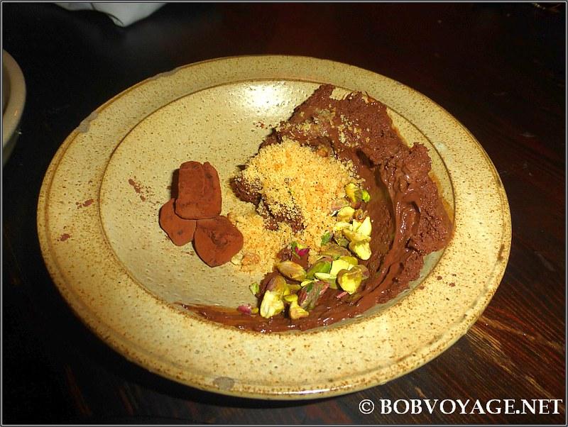 מוס שוקולד מריר במסעדת רוטנברג (Rutenberg)