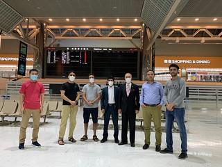 Afghan Student Repatriation