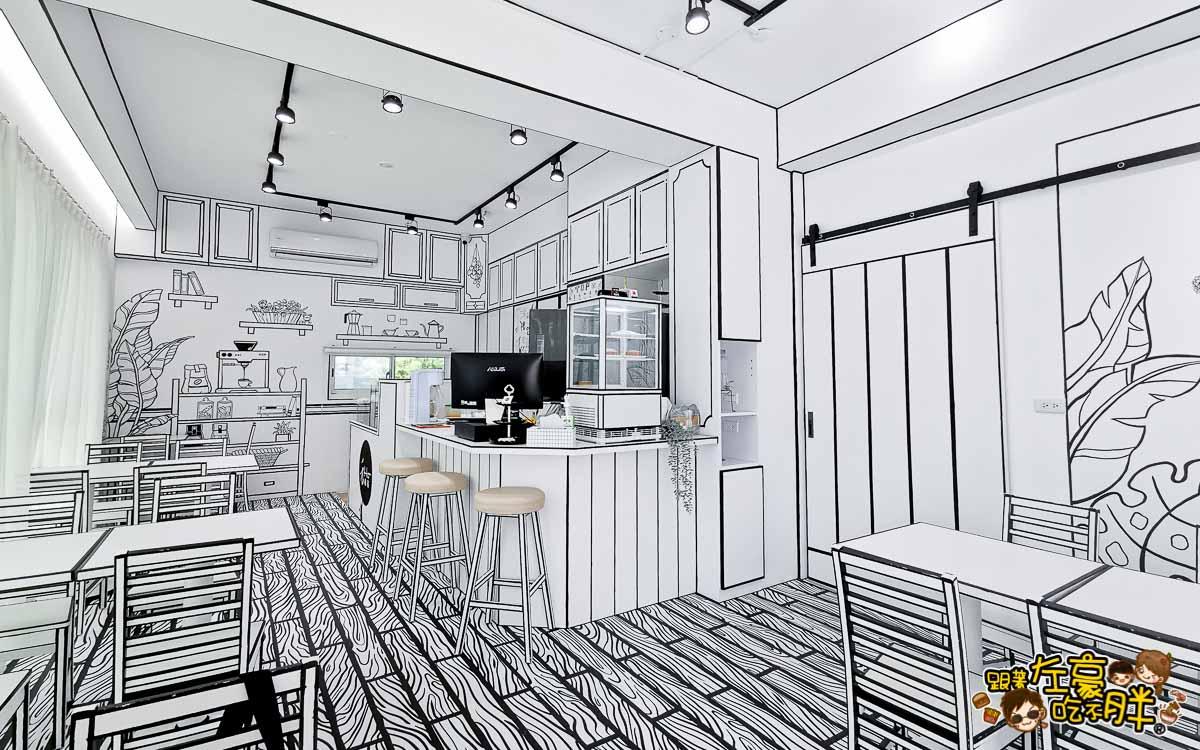 HO Caffee 2D Cafe(2D咖啡)禾旅宿Ho Hostel-墾丁夢幻島 度假別墅-9